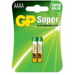 2 x bateria GP Super AAAA / LR61 / 25A / LR8D425 / MN2500 / MX2500 / E96