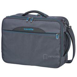 Travelite Crosslite torba podróżna kabinowa / podręczna / plecak / antracyt - szary ZAPISZ SIĘ DO NASZEGO NEWSLETTERA, A OTRZYMASZ VOUCHER Z 15% ZNIŻKĄ