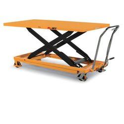 Podnośny stół TG o maksymalnym obciążeniu 500 kg