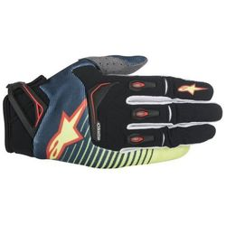 RĘKAWICE ALPINESTARS TECHSTAR S7 PET/YELL/ FLUO/RED