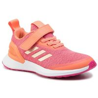 Buty sportowe dla dzieci, Buty adidas - RapidaRun X El C EE7110 Semcor/Coppmt/Reamag