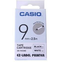 Casio taśma etykiet termozgrzewalna (do oznaczania kabli) XR-9HSWE, XR9HSWE
