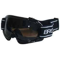 okulary narciarskie BROTHER - czarne