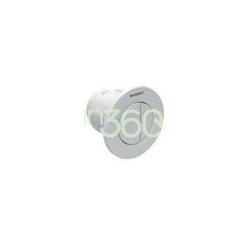 Geberit hytouch pneumatyczny przycisk uruchamiający wc typ 01, ręczny, podtynkowy, dwudzielny, chrom 116.042.21.1