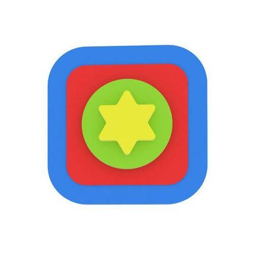 Puzzle, Moje první puzzle - Tvary čtverec/hvězda modrá neuveden