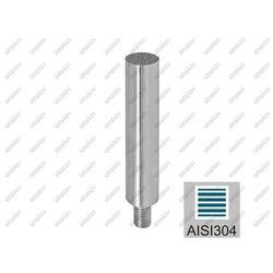 Trzpień nierdzewny AISI304, K320, D12/L75mm, M8