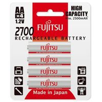 Akumulatorki, 4 x akumulatorki Fujitsu R6/AA 2700mAh HR-3UAEX (blister)