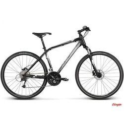 Rower Kross Evado 5.0 2017 czarny / srebrny matte