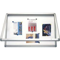 Gablota informacyjna 2x3 model 1 wewnętrzna suchościeralno - magnetyczna lakierowana 90x60cm