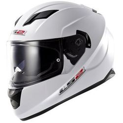Kask motocyklowy LS2 FF320 STREAM SOLID WHITE