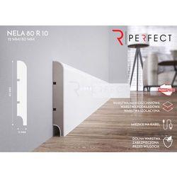 Listwa przypodłogowa MDF Nela 80 R10 - 12x80x2620 mm