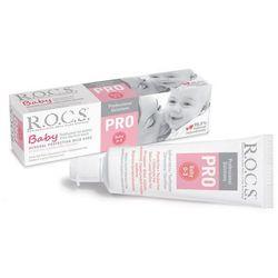 ROCS PRO Baby Mineral Protection Mild Care - Pasta do zębów dla dzieci w wieku 0-3 lat 35ml