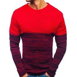 Sweter męski czerwony Denley 164