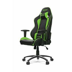 AKRACING Nitro Gaming Chair - czarny/zielony