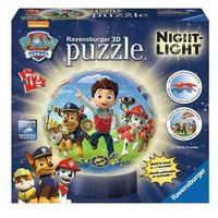 Puzzle, RAVEN. 72 EL. Kuliste Psi Patrol lampka