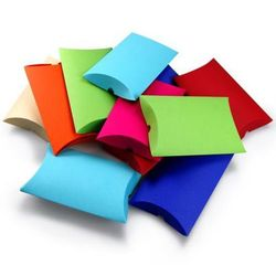 Pudełko ozdobne - poduszka L Mix kolorów