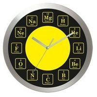 Zegary, Zegar aluminiowy Czas na chemie #1