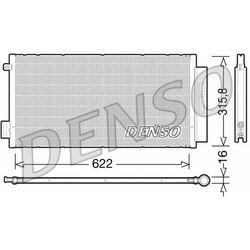 Skraplacz, klimatyzacja DENSO DCN09044