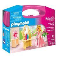 Klocki dla dzieci, Playmobil WALIZKA Walizka - toaletka księżniczki 5650