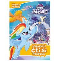 Książki dla dzieci, My Little Pony film - Vybarvuj, čti si, nalepuj kolektiv