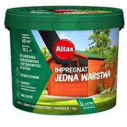 Altax Impregnat Do Drewna Ogrodowego 10L Palisande