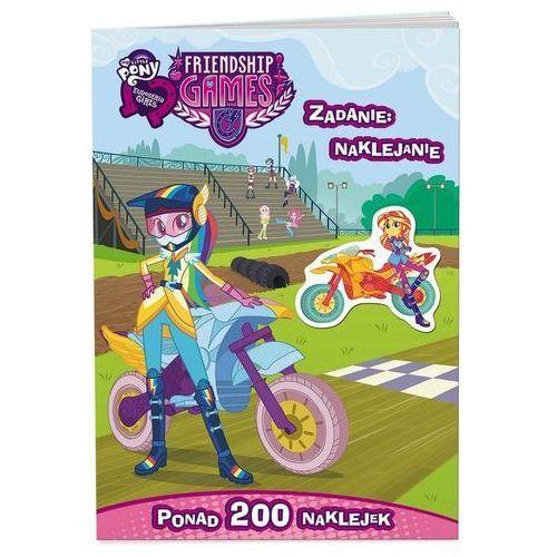 Bajki, My Little Pony Equestria girls Zadanie naklejanie opracowanie zbiorowe