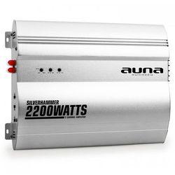 Auna Silverhammer 2-kanałowy wzmacniacz samochodowy 2200W