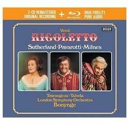 VERDI RIGOLETTO (2CD + 1 BLU-RAY AUDIO) - Luciano Pavarotti (Płyta CD)