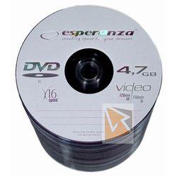 Płyty DVD+R Esperanza 4.7GB 16xSpeed (Szpindel) - 100szt.