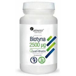 Aliness Biotyna 2500 mcg QualiBiotin 120 tabletek