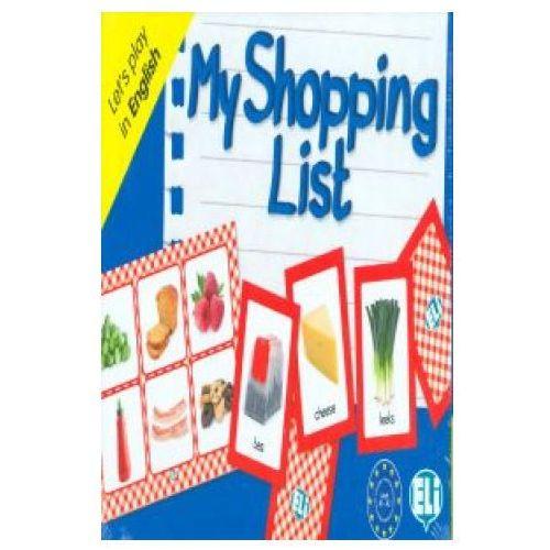 Książki do nauki języka, Gra językowa Angielski My Shopping List. Opr. karton