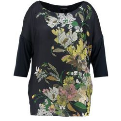 Live Unlimited London LINE FLORAL PLACEMENT TEE Tunika ink