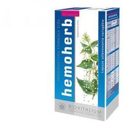 Hemoherb (60 kaps.) - Suplement diety na prawidłowe procesy krwiotwórcze,polepszający parametry krwi. Morfologia pod kontrolą. DARMOWA DOSTAWA OD 65 ZŁ