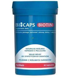 Bicaps Biotin - Biotyna 60 kaps witamina B7 - Formeds