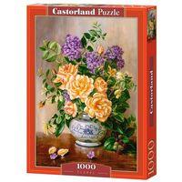 Puzzle, Puzzle 1000 Floral - Castor OD 24,99zł DARMOWA DOSTAWA KIOSK RUCHU