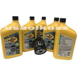 Filtr oraz olej silnikowy 5W30 MS-13340 SN PLUS Jeep Cherokee KL 2,0 Turbo