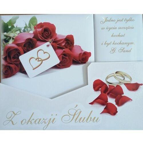 """Pozostałe na ślub i wesele, """"Z okazji Ślubu"""" - Pamiątka na ślub (róże)"""