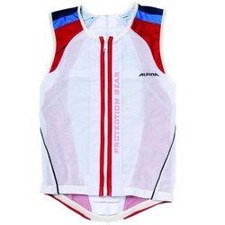 Alpina Sports ochraniacz pleców Jacket Soft Protector White/Red/Blue L (178-184 cm)