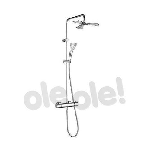 Kludi Fizz Dual Shower System z termostatem 6709505-00 (4017080075138)