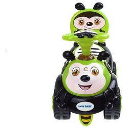 Jeździk dla dzieci pszczółka KINDERSAFE 7625 zielony - Zielony