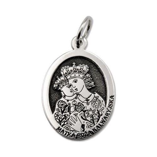 Pozostała biżuteria, Medalik srebrny z wizerunkiem matki bożej kalwaryjskiej med-mbkal-01