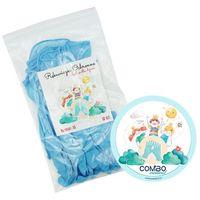 Rękawice robocze, Rękawiczki nitrylowe dla dzieci XS - 10szt + GRATIS