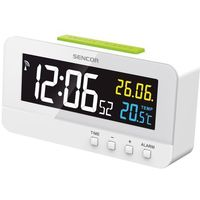 Zegary, Budzik SENCOR SDC 4800 W Biały