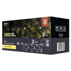 EMOS lampki choinkowe LED Standard, złączone - sieć, 1,5x2 m, ciepła biel