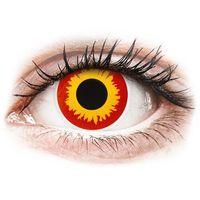 Soczewki kontaktowe, Soczewki kolorowe czerwone WILD FIRE Crazy Lens 2 szt.