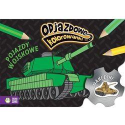 Odjazdowe kolorowanki Pojazdy wojskowe (opr. broszurowa)