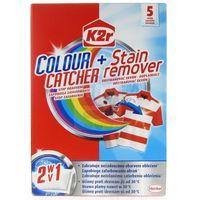Wybielacze i odplamiacze, Saszetki do prania K2r Colour Catcher + Stain Remover (5 sztuk)