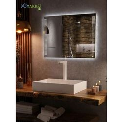 Lustro z oświetleniem ledowym do łazienki: JASMIN-10