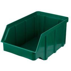 Plastikowy pojemnik warsztatowy - wym. 156 x 100 x 756 - kolor zielony
