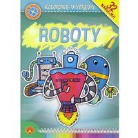 Książki dla dzieci, Kolorowe Wyprawy Roboty: 32 naklejki (opr. miękka)